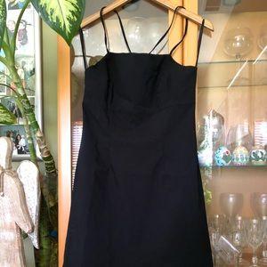 Black spaghetti strap dress size 9/10